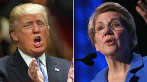 Trump Asked About Elizabeth Warren Running In 2020, His Response is LEGENDARY...