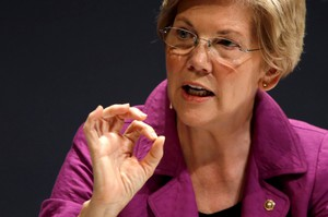 Elizabeth Warren questions the hiring of for-profit-college officials at the Education Department