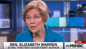"Elizabeth Warren Says Trump Won Because of ""Ugly Stew of Racism"" (VIDEO)"