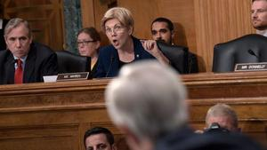 Sen. Warren calls for Wells Fargo board to be fired over unauthorized-accounts scandal