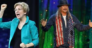 Elizabeth Warren Warns Constituents About Kid Rock in Fundraising Email